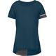 VAUDE Cevio T-Shirt Donna petrolio